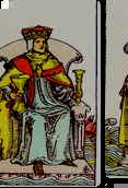 Tarot Karte König der Kelche