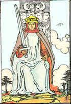 Tarot Karte König der Schwerter