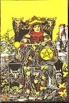 Tarot Karte König der Sterne