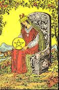 Tarot Karte Königin der Sterne