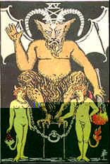 Tarot Karte Der Teufel