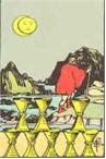Tarot Karte Acht Kelche