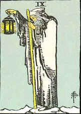 Tarot Karte Der Eremit