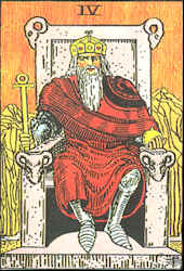 Tarot Karte Der Herrscher