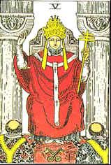Tarot Karte Der Hohepriester