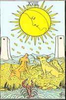 Tarot Karte Der Mond