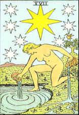 Tarot Karte Der Stern