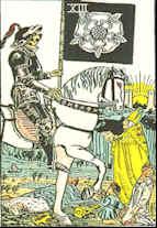 Tarot Karte Der Tod