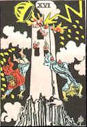 Tarot Karte Der Turm