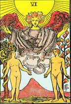 Tarot Karte Die Liebenden