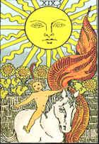Tarot Karte Die Sonne