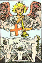 Tarot Karte Das jüngste Gericht