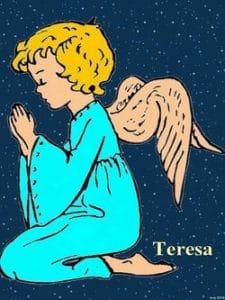 Engelkarte: Teresa