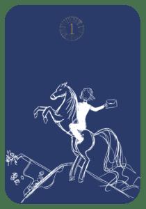 Lenormand der Reiter
