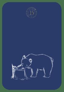 Lenormand der Bär