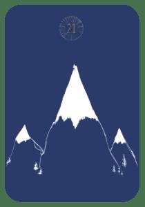 Lenormand der Berg