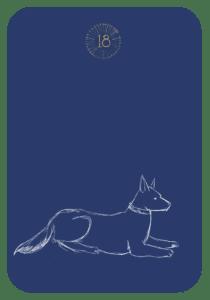 Lenormand der Hund