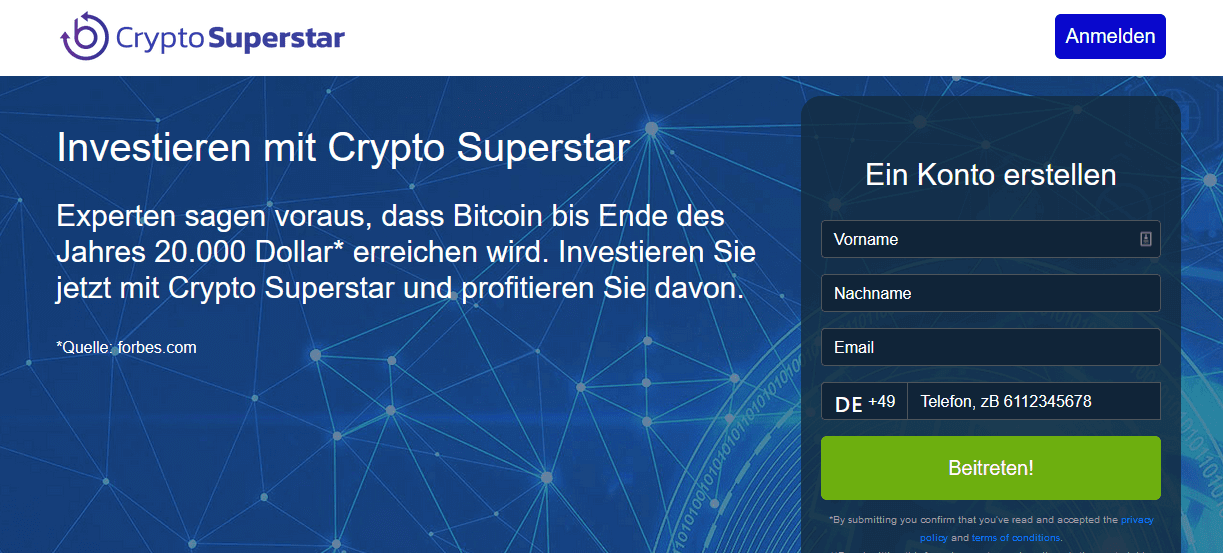 Crypto Superstar Test