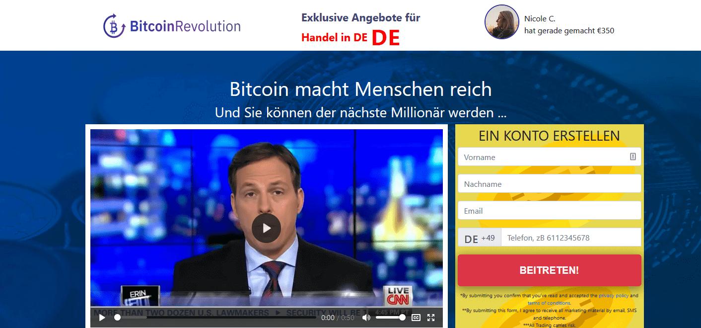 Bitcoin Revolution Test