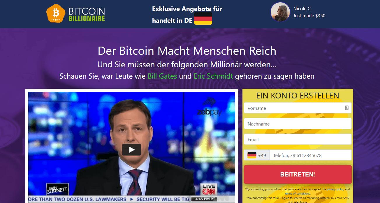 Bitcoin Billionaire Test