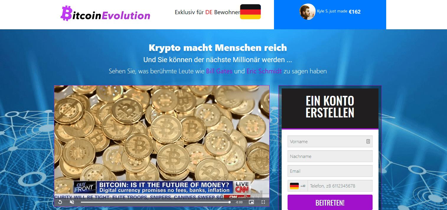 Bitcoin Evolution Test