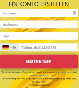 Bitcoin Storm Anmeldung