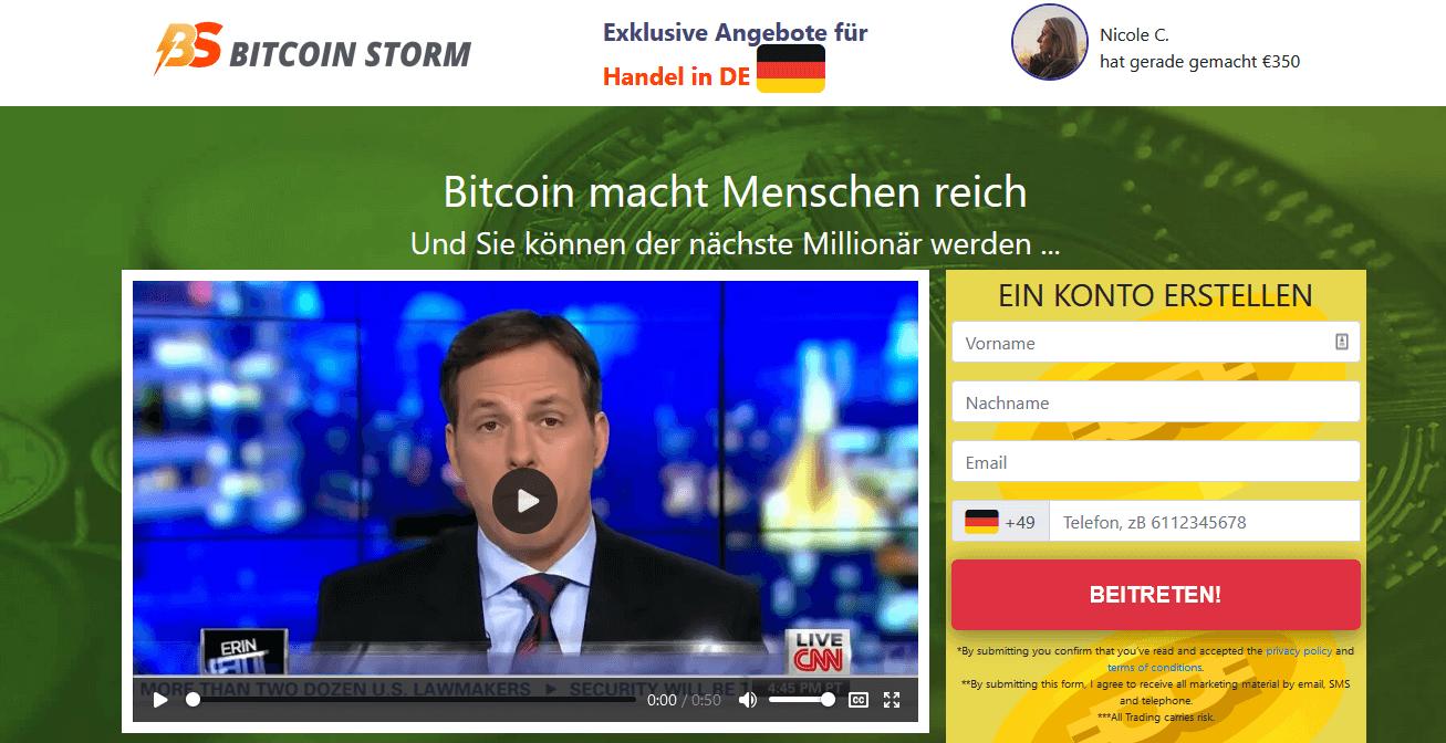 Bitcoin Storm Test
