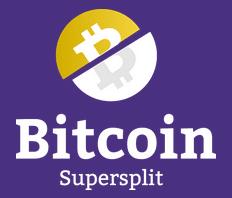 Bitcoin Supersplit Logo