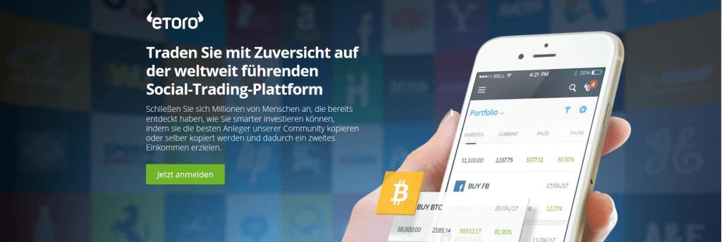 Trading Plattformen - Social Trading eToro